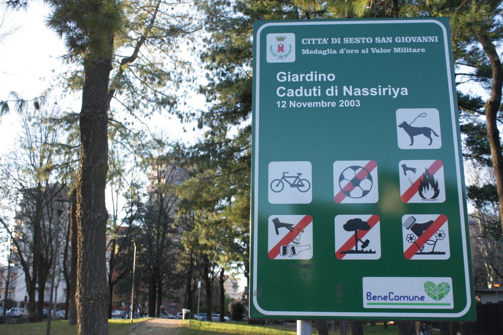 """Giardino """"Caduti di Nassiriya"""""""