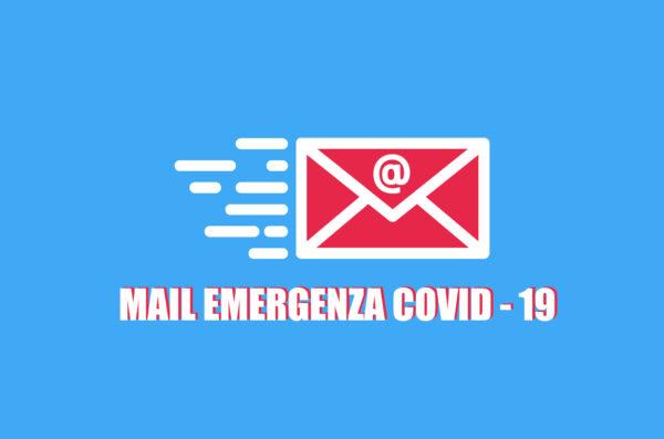 Mail del Comune per l'emergenza Covid-19