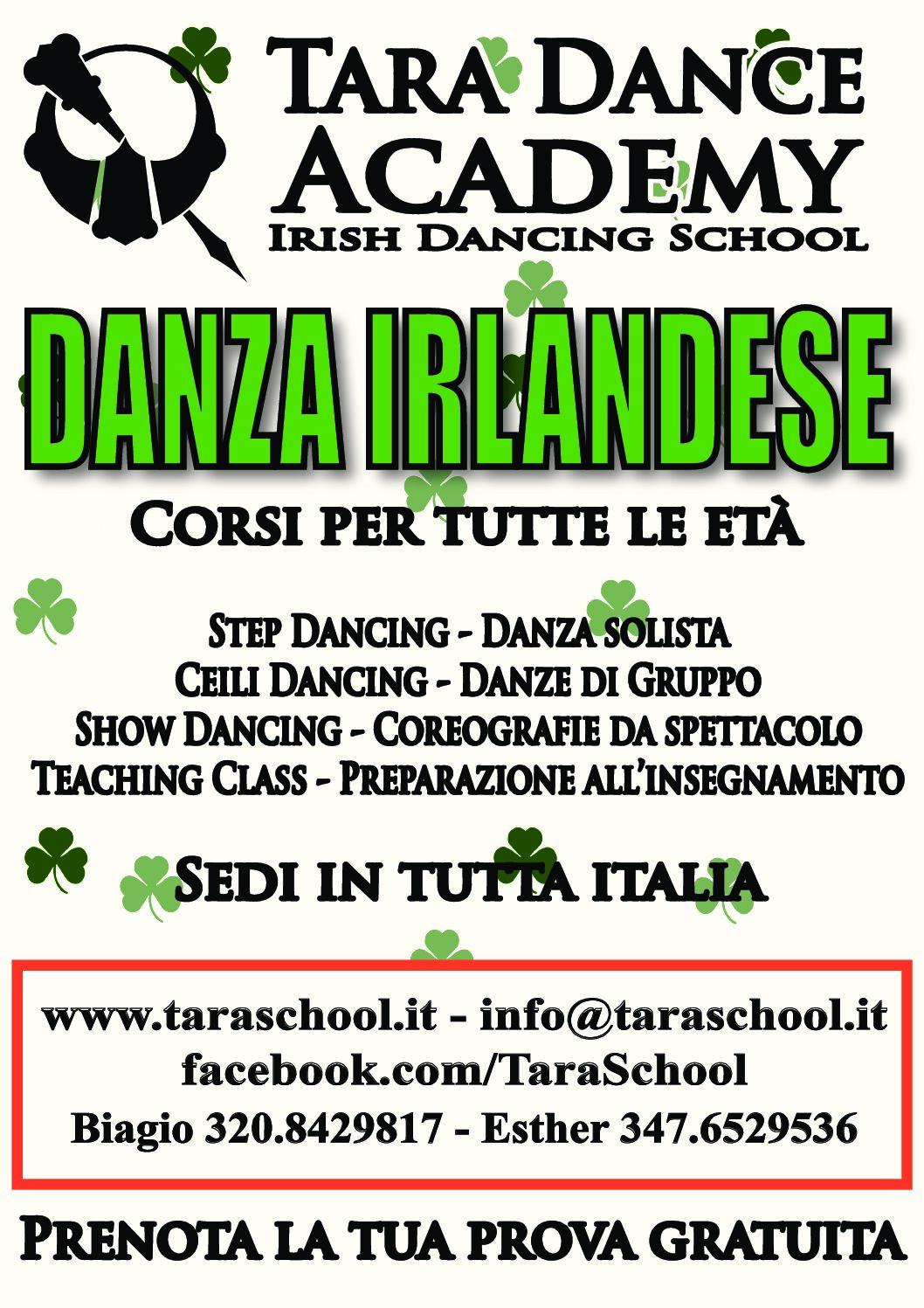 Corso di Ceili Dancing Irlandese