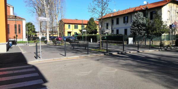 Lavori al Villaggio Falck: uno spazio più bello e sicuro da vivere a piedi