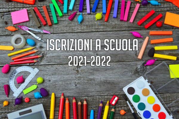 Iscrizioni a scuola 2021/2022