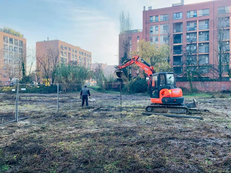 Terrazza Bottoni, al via i lavori: un belvedere sul parco di Cascina Gatti