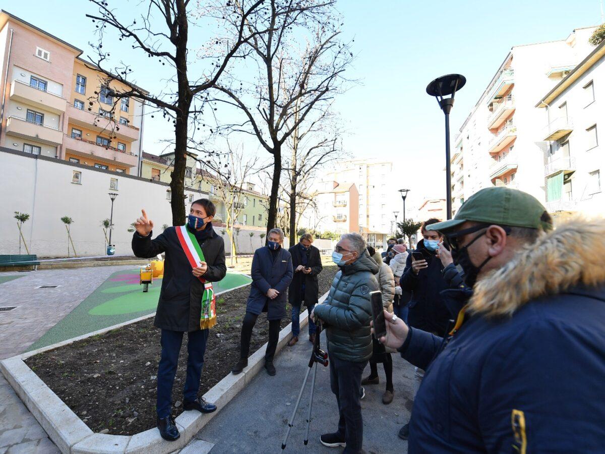Inaugurazione di via Picardi