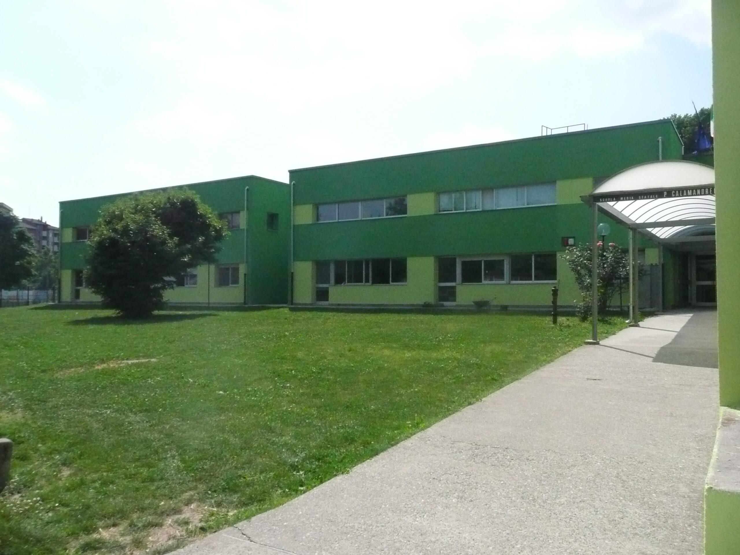 Le nuove facciate della scuola Calamandrei
