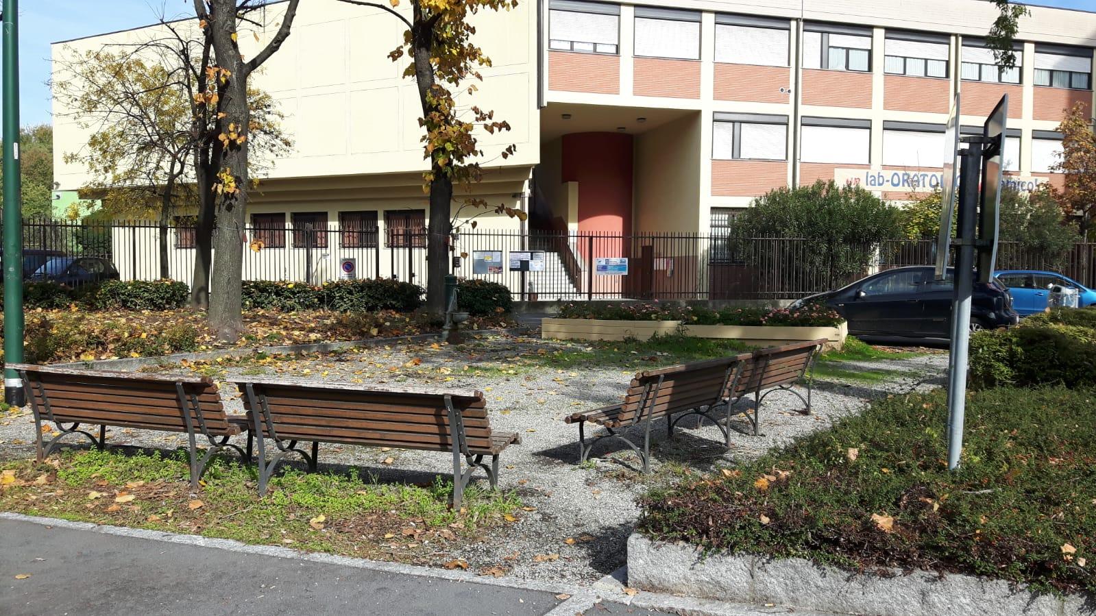 Piazzetta verde Pisa Cantore dedicata a Rita Atria2