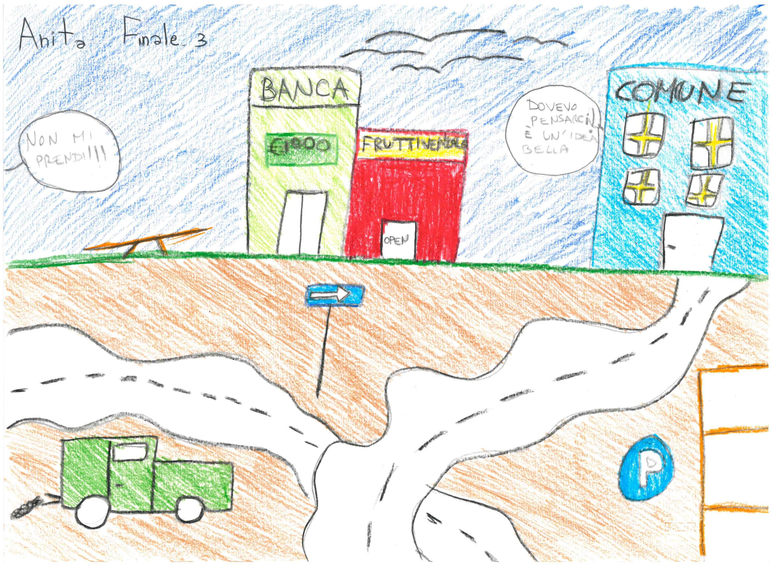 5°A scuola Dante pifferaio Rodari