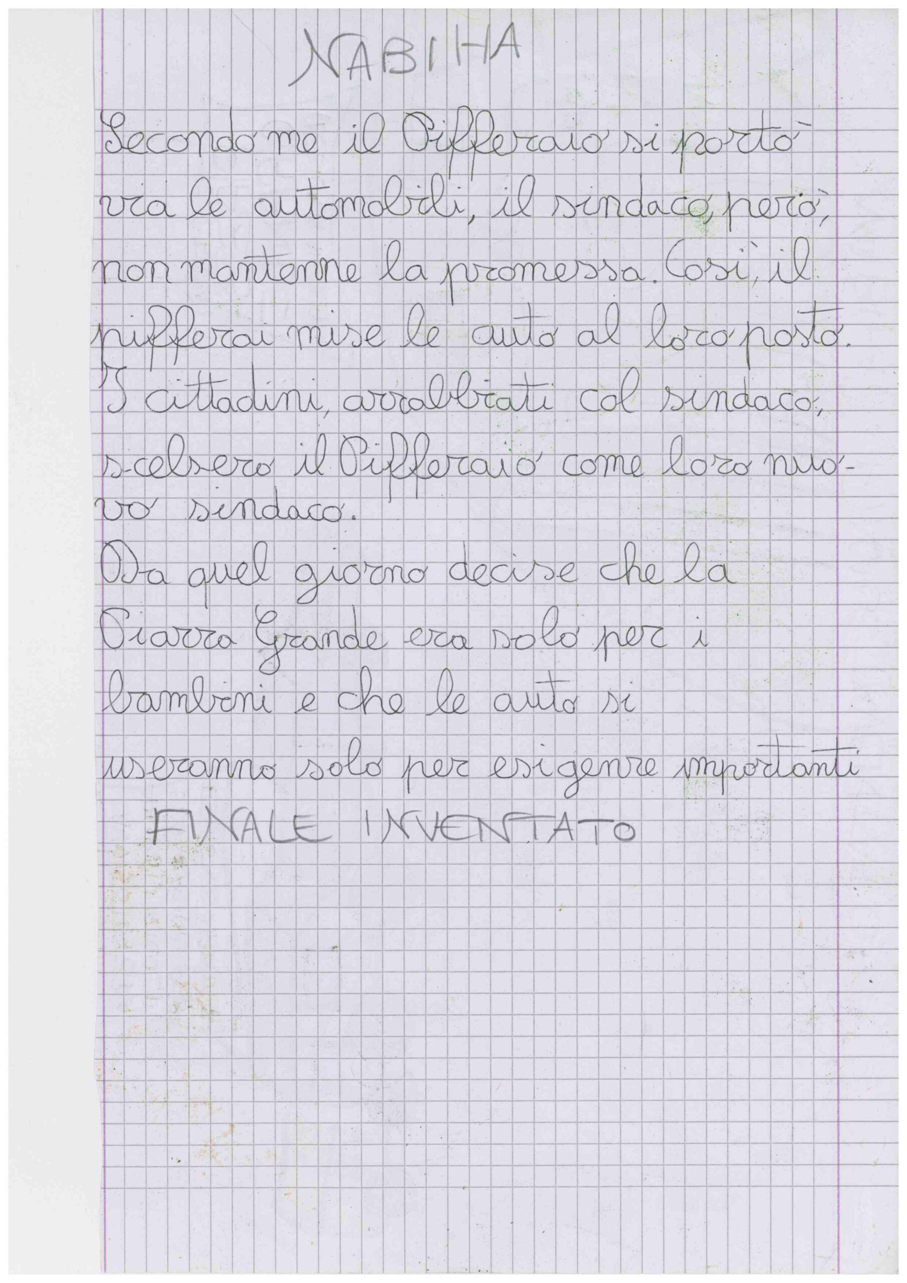 5°B scuola Dante pifferaio Rodari