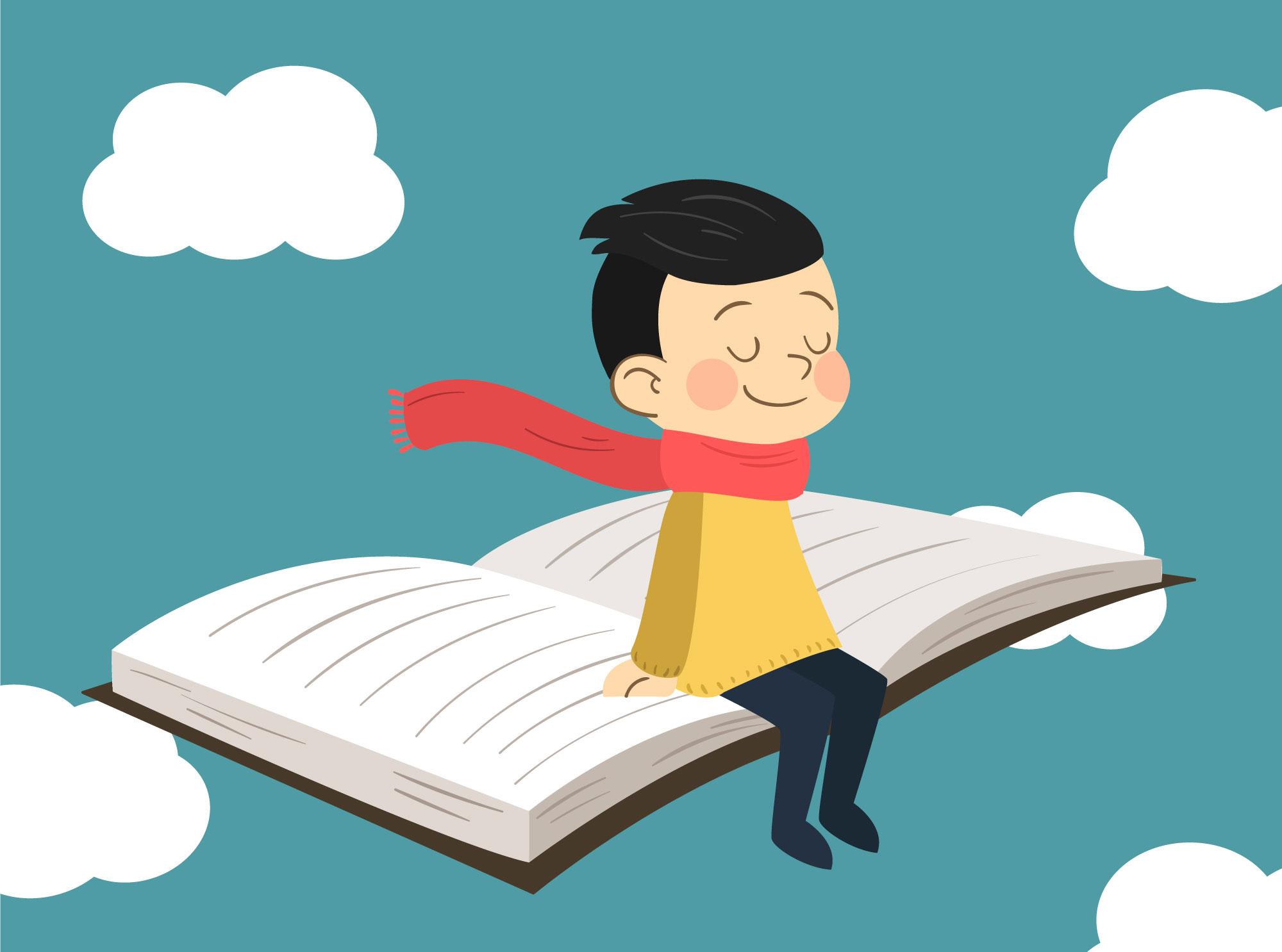 volare sul libro