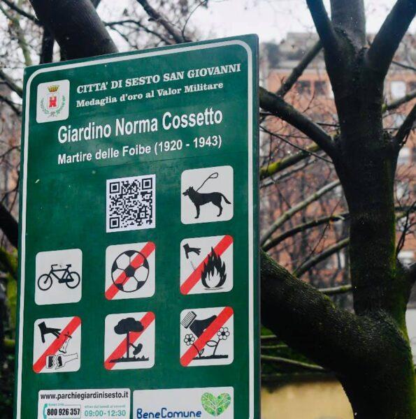Un giardino intitolato a Norma Cossetto