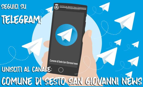 Unisciti al canale Telegram del Comune!