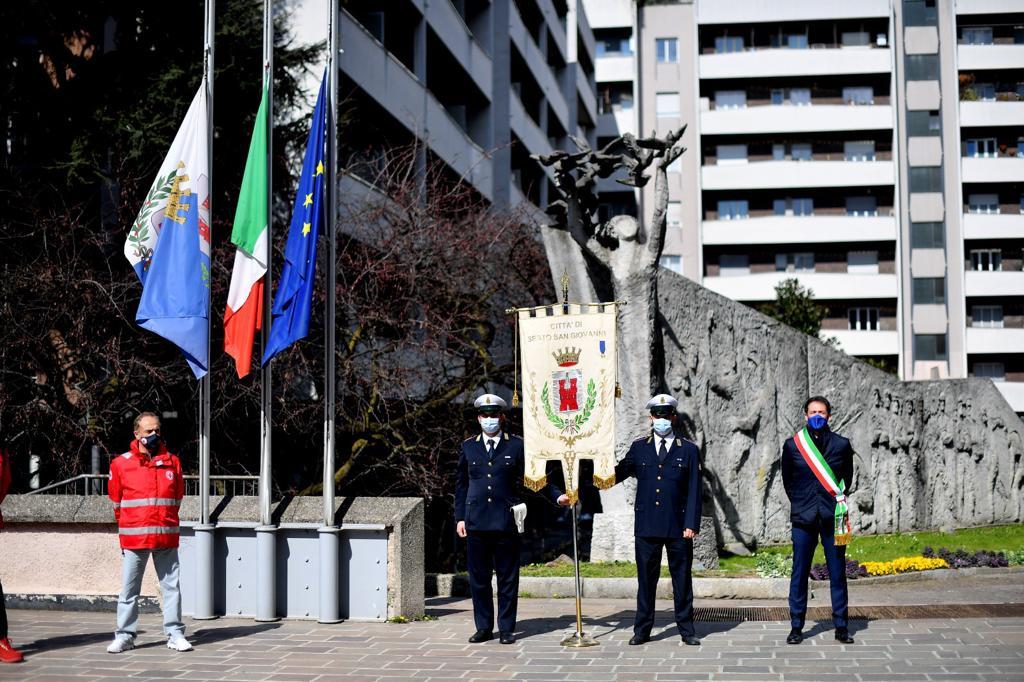 Covid, Sesto San Giovanni celebra la Giornata Nazionale in memoria delle vittime