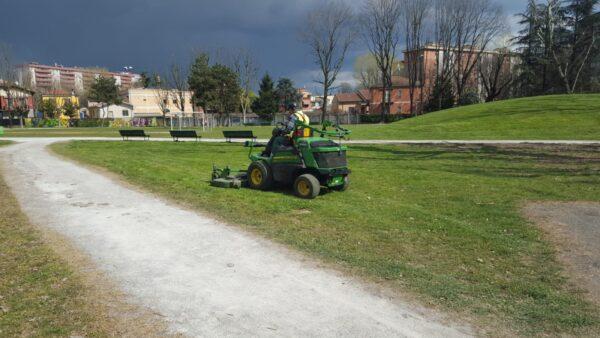 Taglio dell'erba 2021