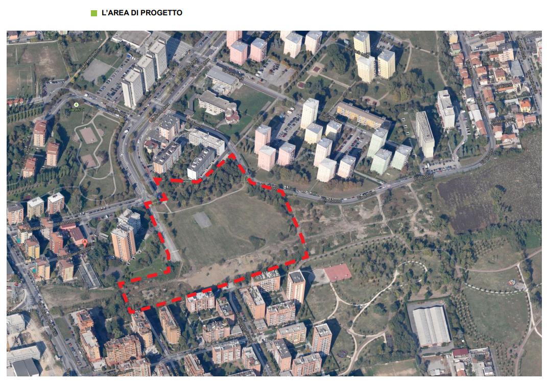 area di progetto terrazza
