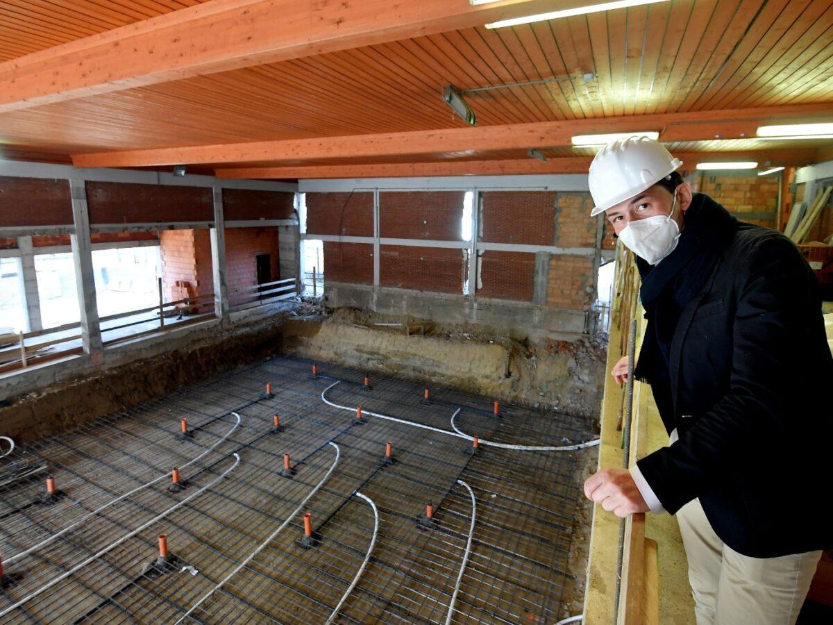 Piscina De Gregorio, in corso la realizzazione della vasca da 25 metri