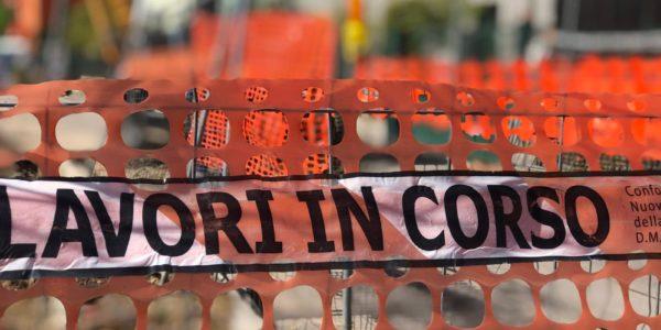 A2A lavori alla rete di Teleriscaldamento in via Giovanna D'Arco - incrocio via Giorgio Enrico Falck.