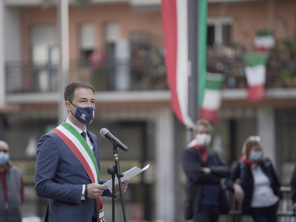 25 Aprile, le parole del sindaco Di Stefano alla città di Sesto San Giovanni
