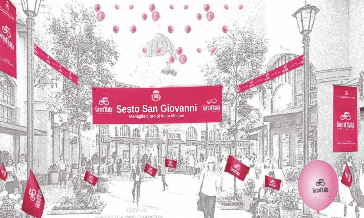 Il Giro d'Italia arriva a Sesto San Giovanni! La città sarà anche sede del Giro E