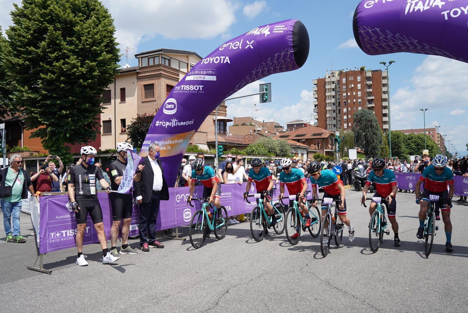 30 maggio 2021 - Giro d'Italia e Giro-E