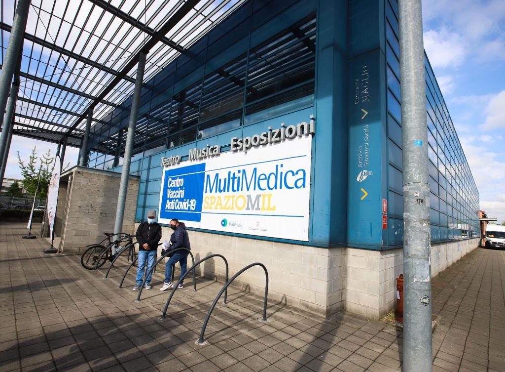 Hub vaccinale allo Spazio Mil