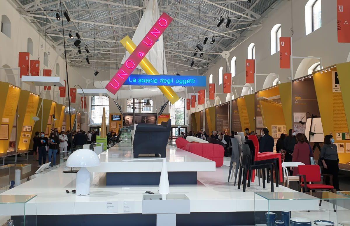 Il Comune all'inaugurazione dell'Adi Design Museum: esposti i modelli dell'Archivio Sacchi