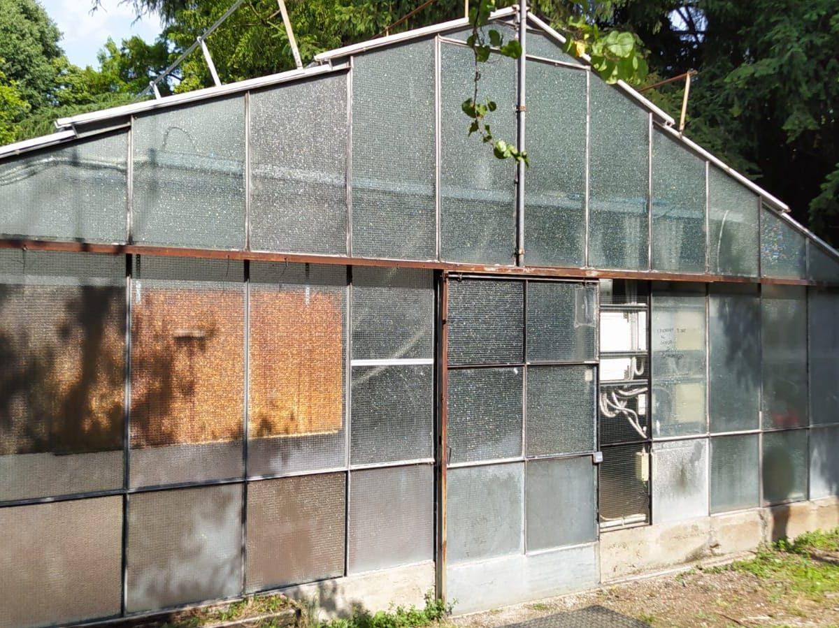 Villa Mylius, conclusi i lavori alla serra: dopo l'estate al via la fattoria didattica
