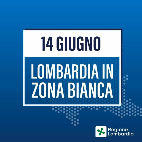 La Lombardia è in zona bianca, ecco cosa cambia