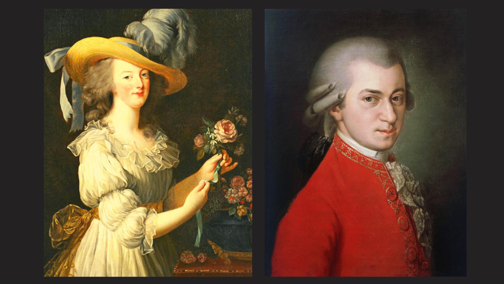 Maria Antonietta e Mozart