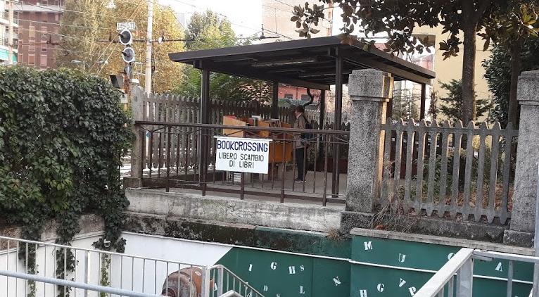 book crossing via roma