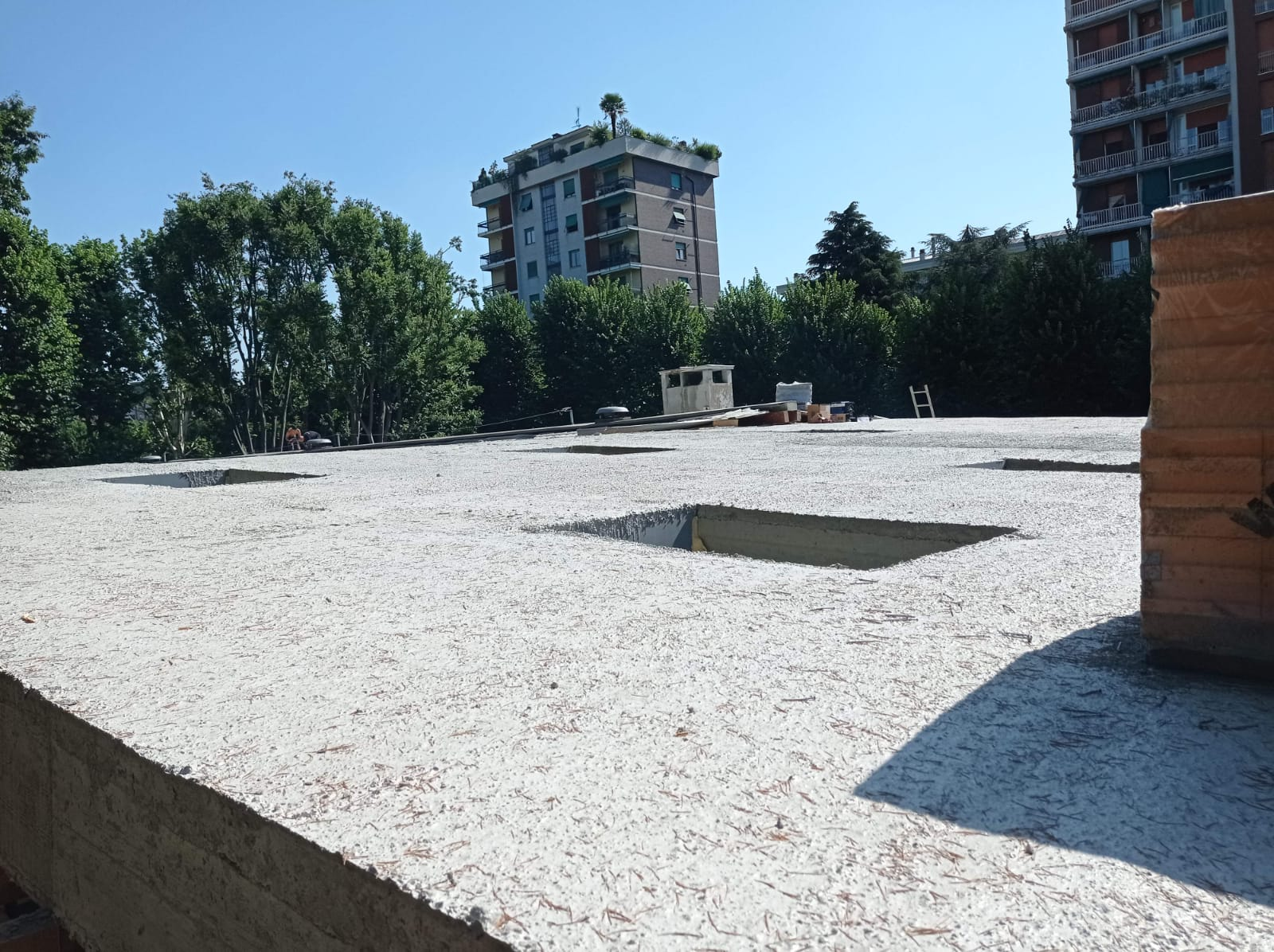 lavori piscina de Gregorio luglio 2021