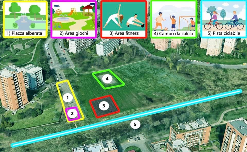 """Concorso """"Chiamami tu"""", bimbi scuole daranno nome all'area giochi del parco Cascina Gatti"""