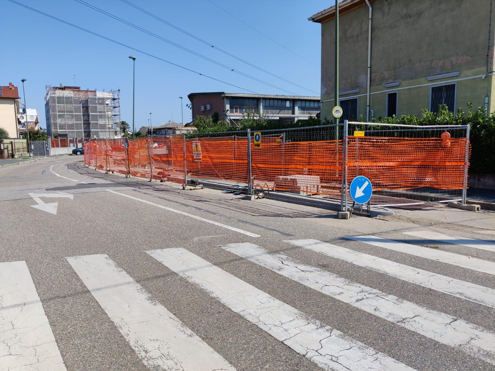 ciclabile via Pisa-Sacco e Vanzetti