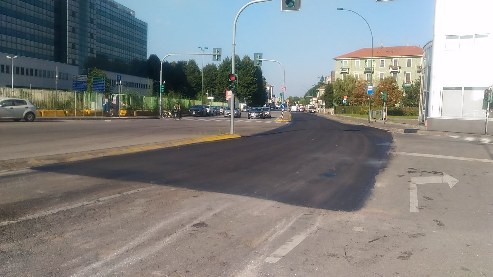 asfaltature viale edison settembre 2021