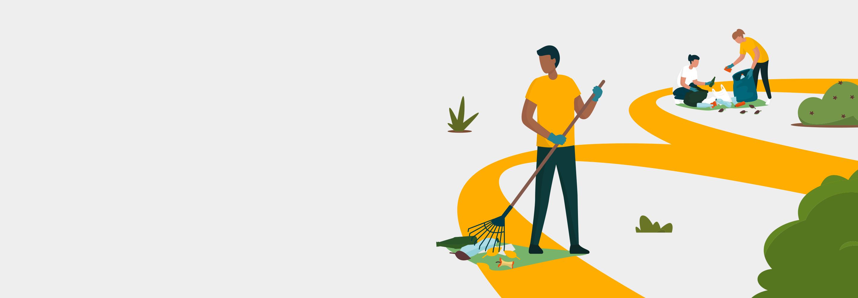 Tutti a raccolta: per pulire la nostra Città dai rifiuti