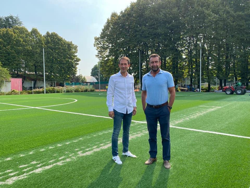 Centro sportivo Falck, in corso i lavori per il nuovo campo di calcio a 7