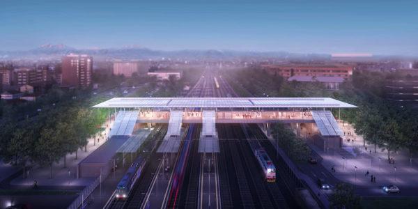 Avvio dei lavori della nuova stazione ferroviaria a ponte