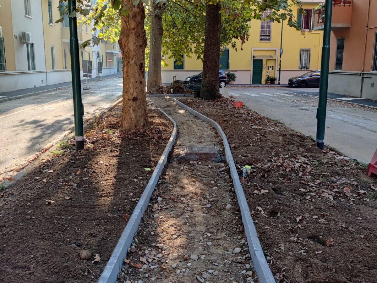 Villaggio Falck, in corso riqualificazione piazza Galli: un altro quartiere rinasce