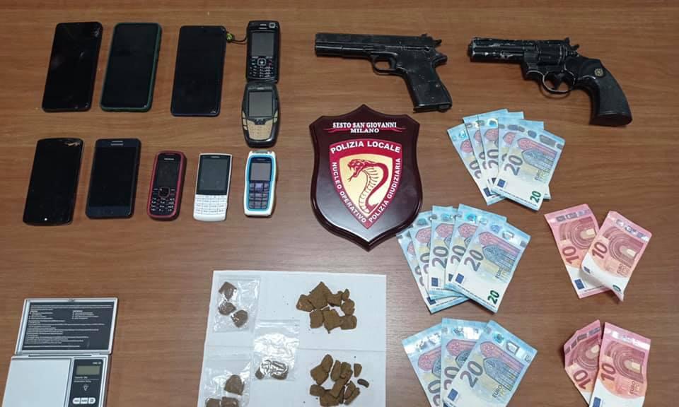 polizia locale droga